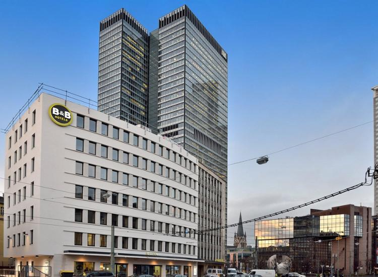 BB Hotel Frankfurt Hbf Aussenansicht