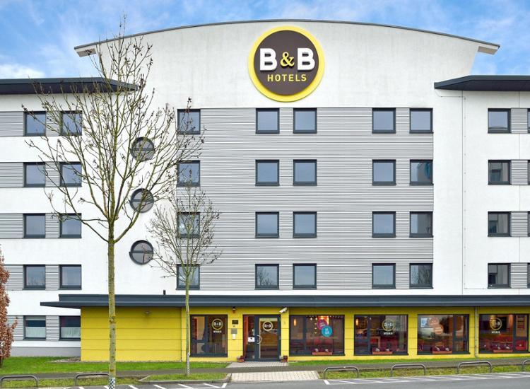 BB Hotel Frankfurt Niederrad Aussenansicht