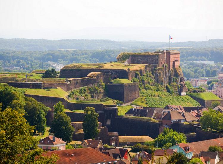 Belfort Stadt mit Fort
