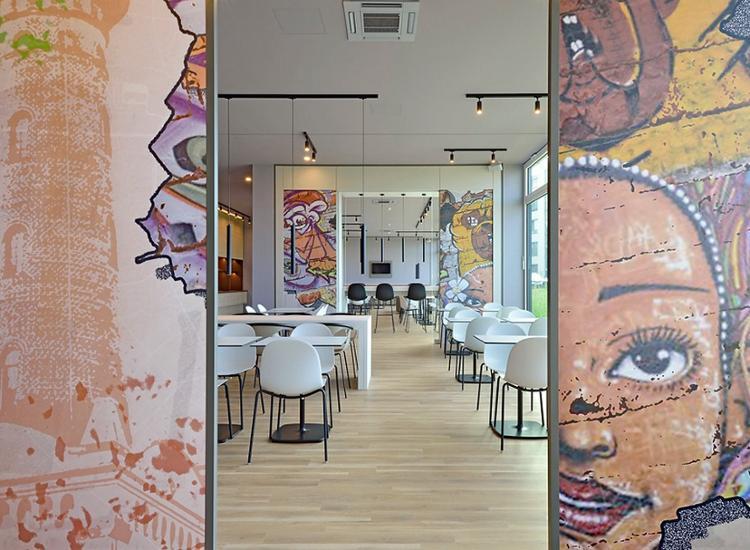 BB Hotel Koeln Ehrenfeld Essensbereich