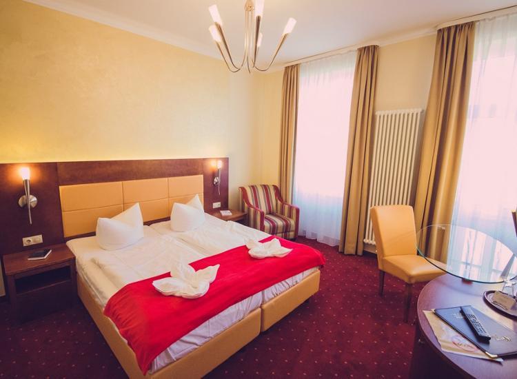 Arena City Hotel Leipzig Doppelzimmer