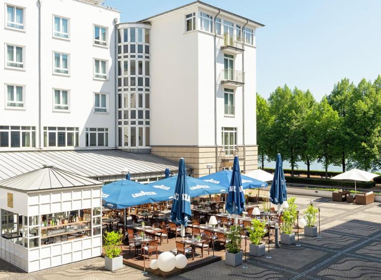 Hilton Bonn Aussenansicht
