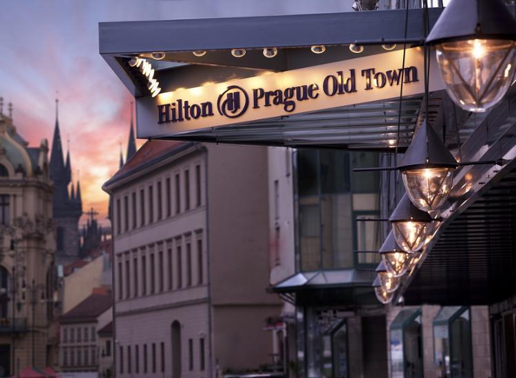 Hilton Prague Old Town Eingang
