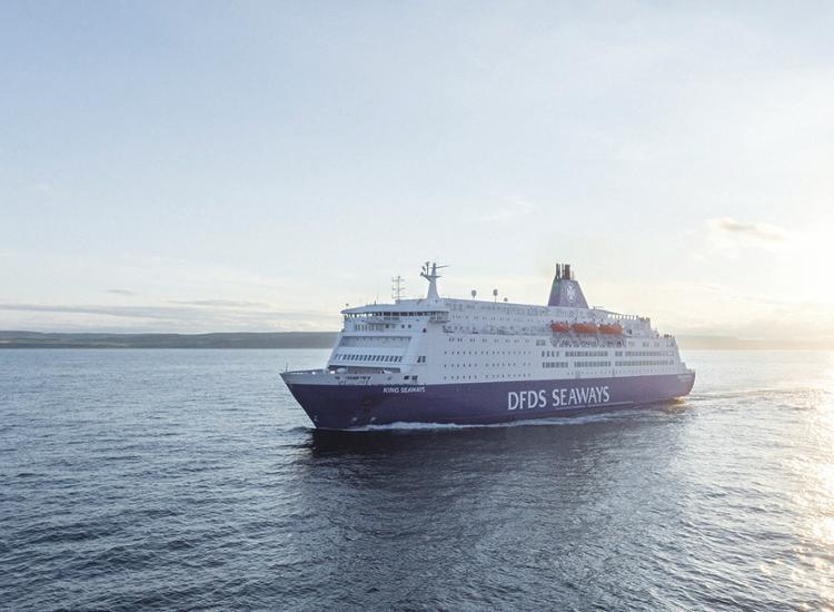 DFDS Seaways Schiff