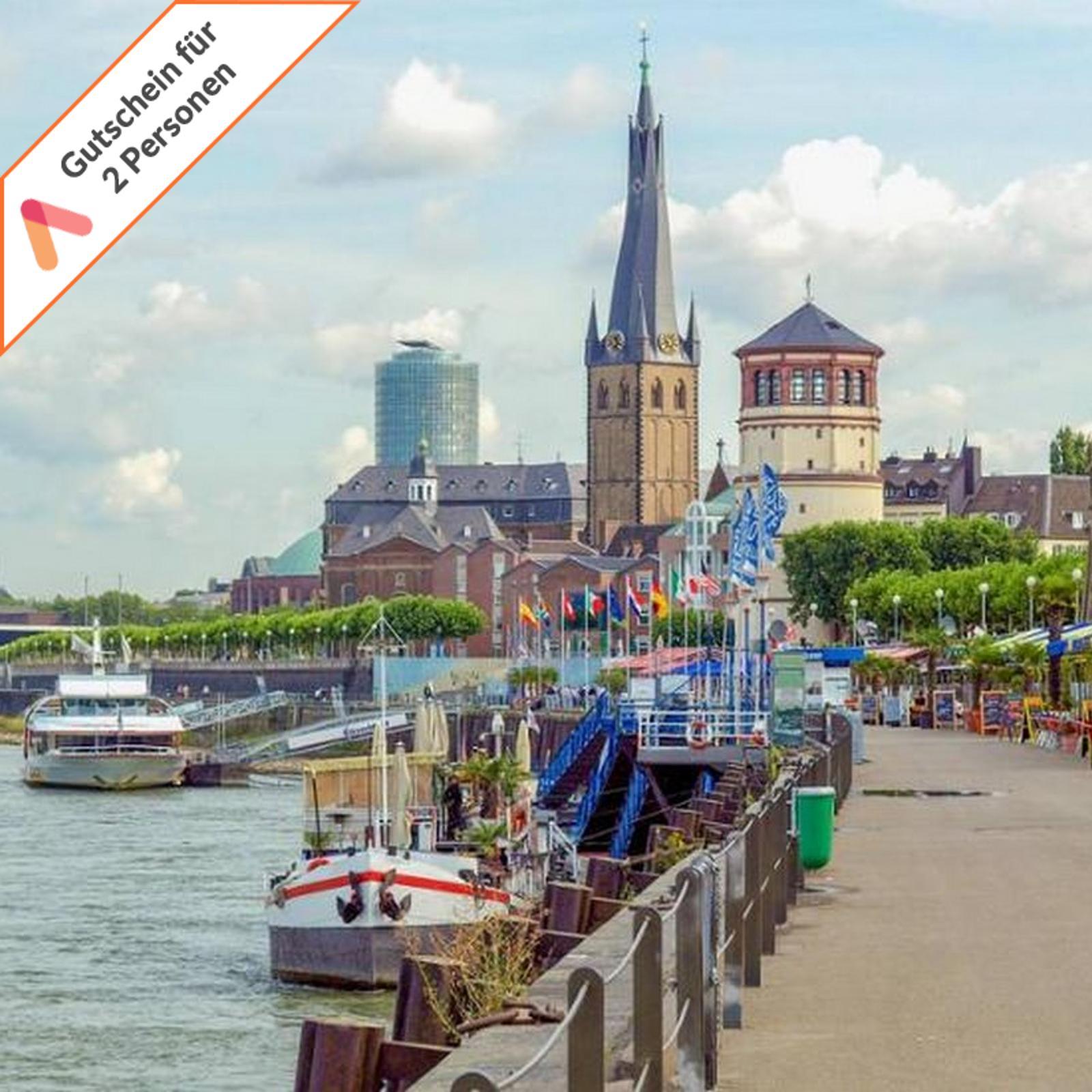 2019 Neuestes Design Städtereise Düsseldorf Zentral 3 - 4 Tage First Class Hotel 2 Personen Gutschein