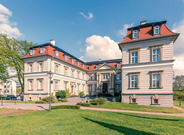 Fürstlicher Aufenthalt im Schlosshotel mit Sauna inkl. zwei Abendessen als 3-Gang-Menü