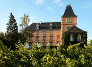 Hotel Schloss Edesheim Aussenansicht