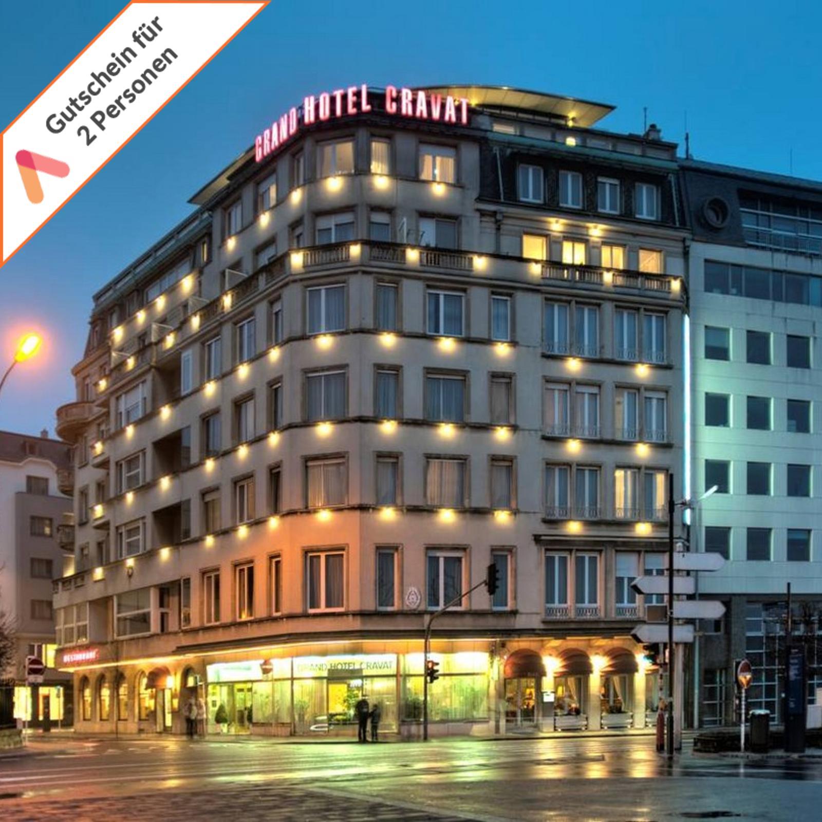 Wochenende-Kurzreise-Luxemburg-Grand-Hotel-3-Tage-fuer-2-Personen-Gutschein