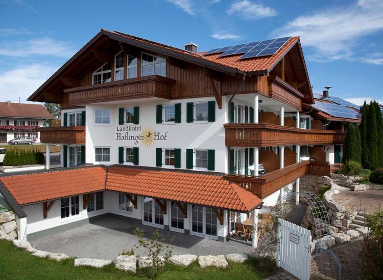 Landhotel Haflingerhof Aussenansicht