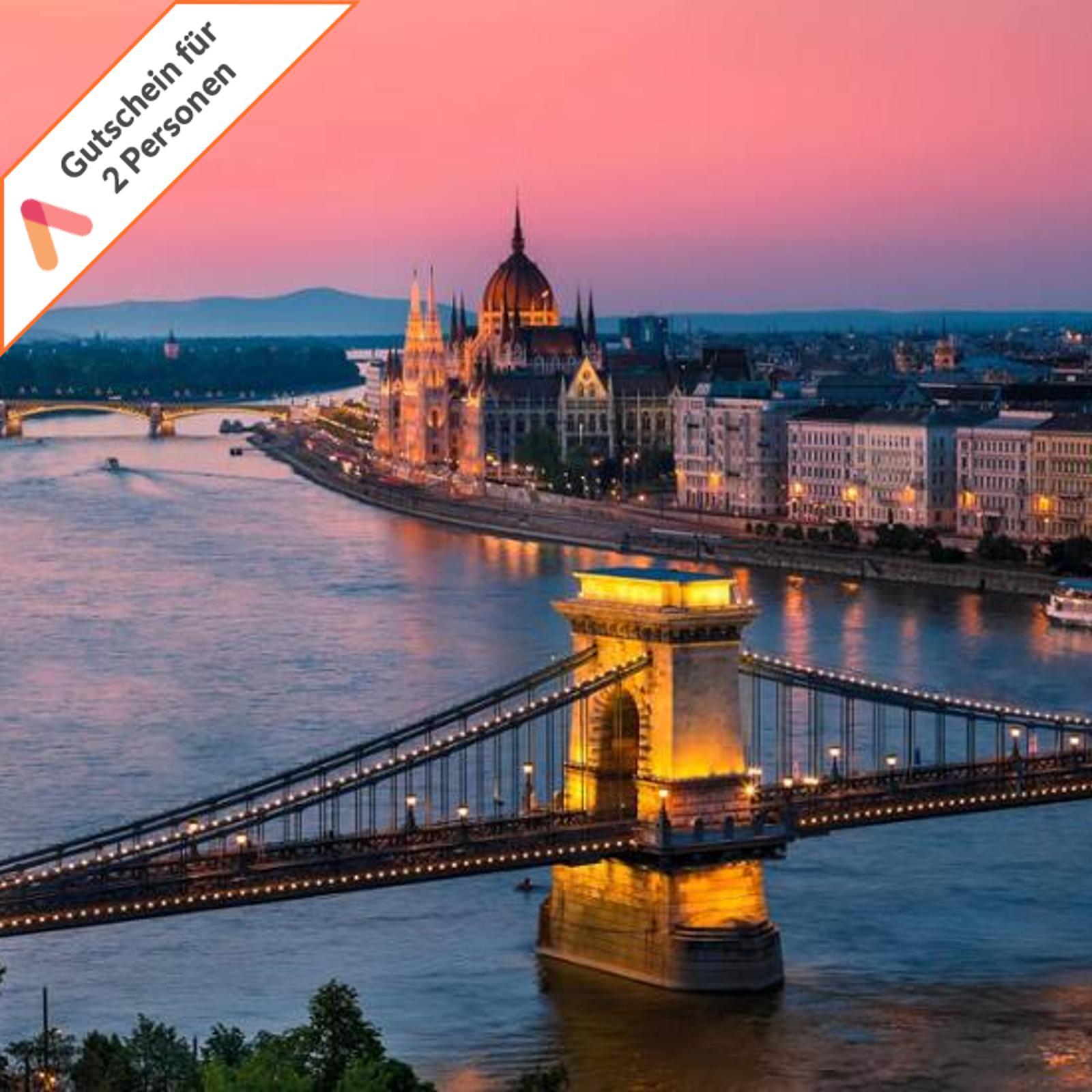 Kurzreise Budapest Ungarn 3 Tage 2 Personen 4 Sterne Radisson Hotel Gutschein