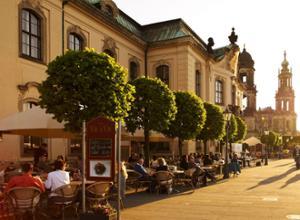Hilton Dresden Aussenansicht