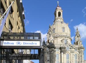 Hilton Dresden Hotelzimmer