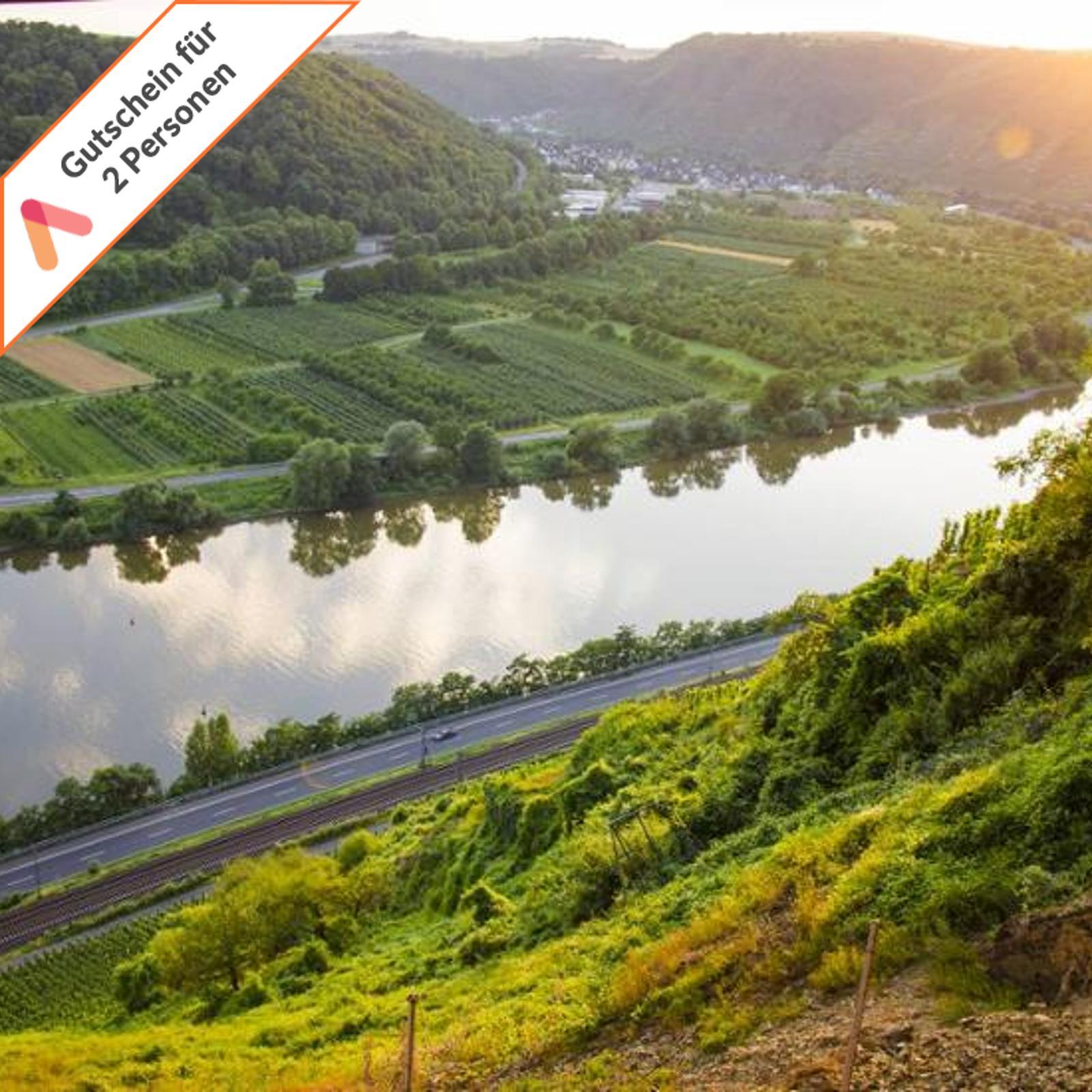 Wellness Kurzreise Koblenz Lahnstein 4 Tage 2 Personen Wyndham Hotel Gutschein