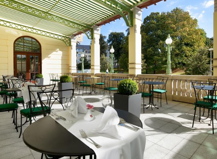 Clarion Grandhotel Zlaty Lev Terrasse