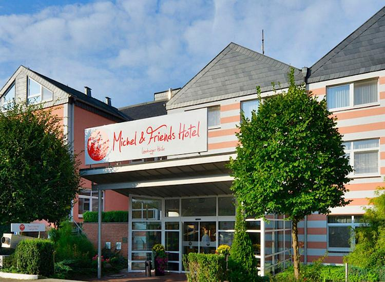 Michel Hotel Lueneburger Heide Fassade