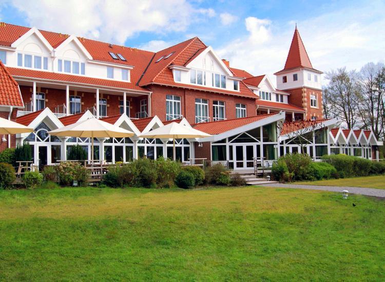 Hotel Seeschloesschen Dreibergen Aussenansicht