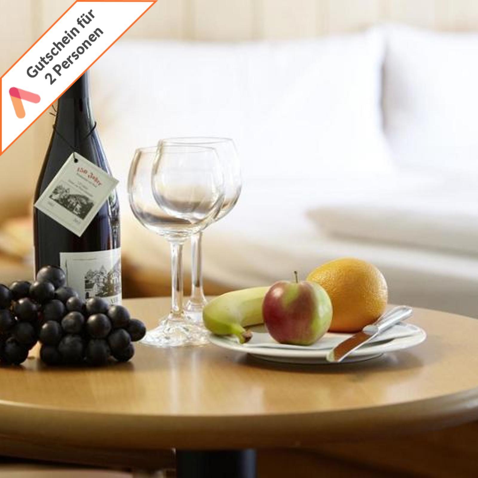 Kurzreise Ahrtal Eifel 5 Tage 3 Sterne Hotel für 2 Personen Wellness Gutschein