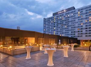 HILTON Hotel Düsseldorf Aussenansicht
