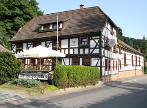 Hotel zum Buergergarten Aussenansicht