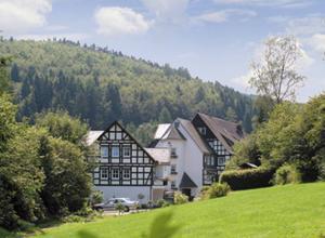 Hotel & Gasthof Hubertushöhe Blick über die Wiese