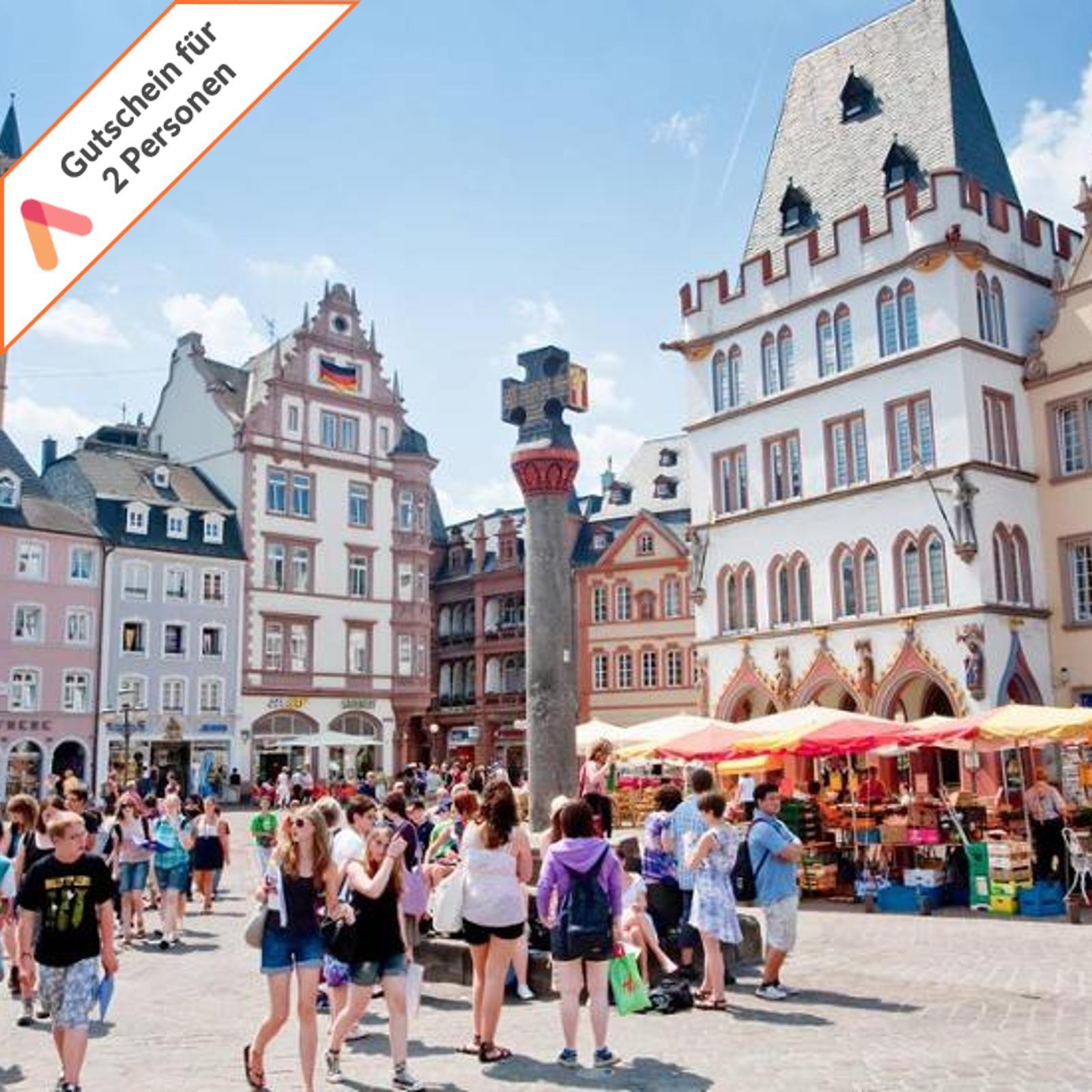Kurzreise Trier Mosel 4 Tage 4 Sterne Hotel 2 Personen Wellness Gutschein Animod