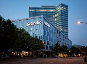 Scandic Hotel Emporio Hamburg Aussenansicht