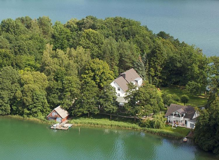 Seehotel Lindenhof Sicht auf das Hotel