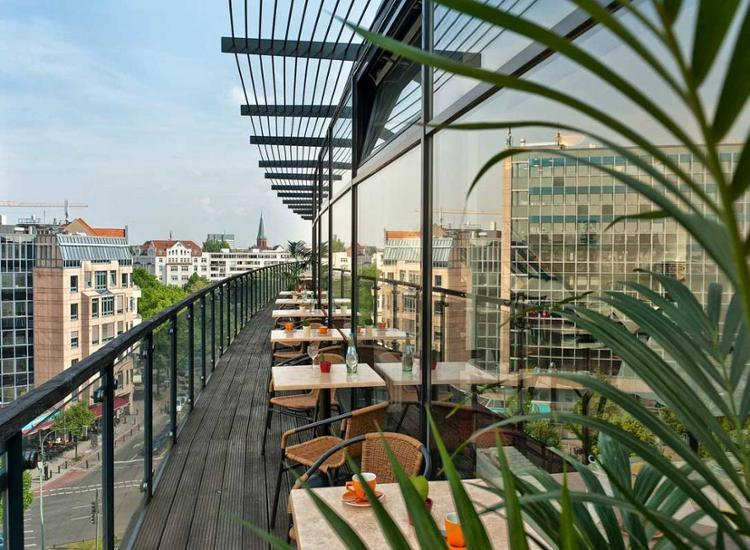 Come Inn Berlin Kurfuerstendamm Terrasse