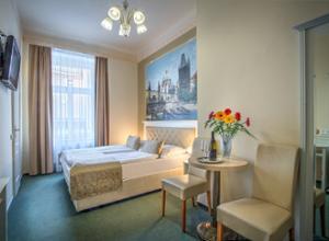 Hotel Taurus Prag Gemuetliches Doppelzimmer