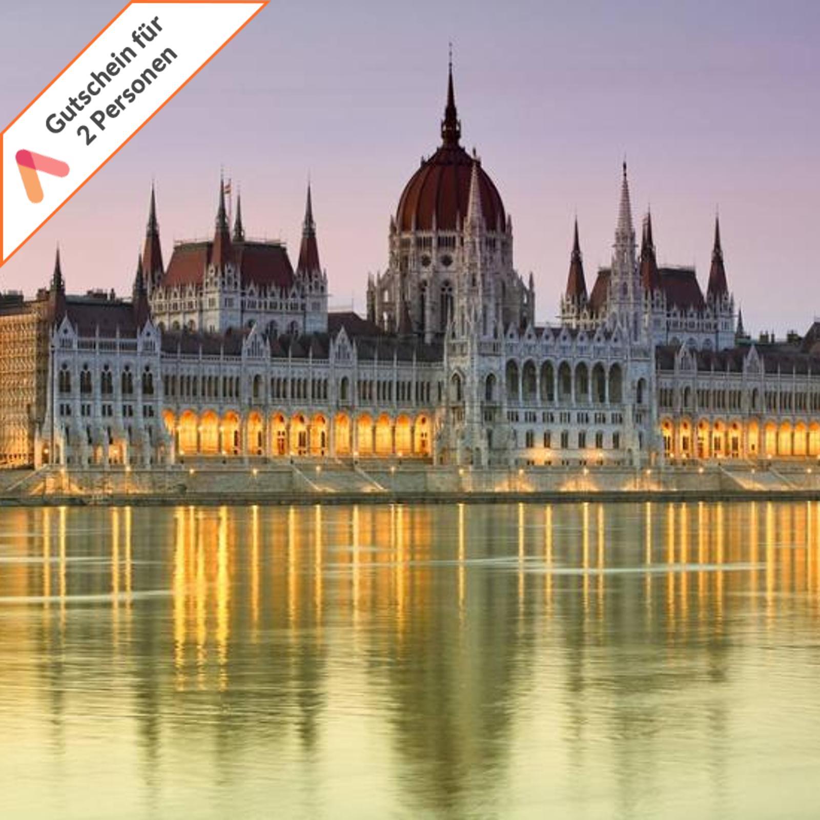 Städtereise Budapest Ungarn Hotel Park Inn Gutschein 2 Personen Dinner 4 Tage