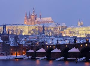 Prag im Winter