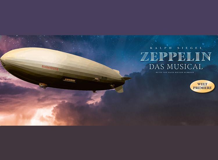 """Ticket-Wertgutschein für """"Zeppelin – das Musical"""""""