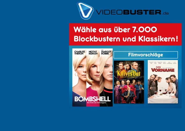 """Gutschein für """"3 Filme als Stream"""""""