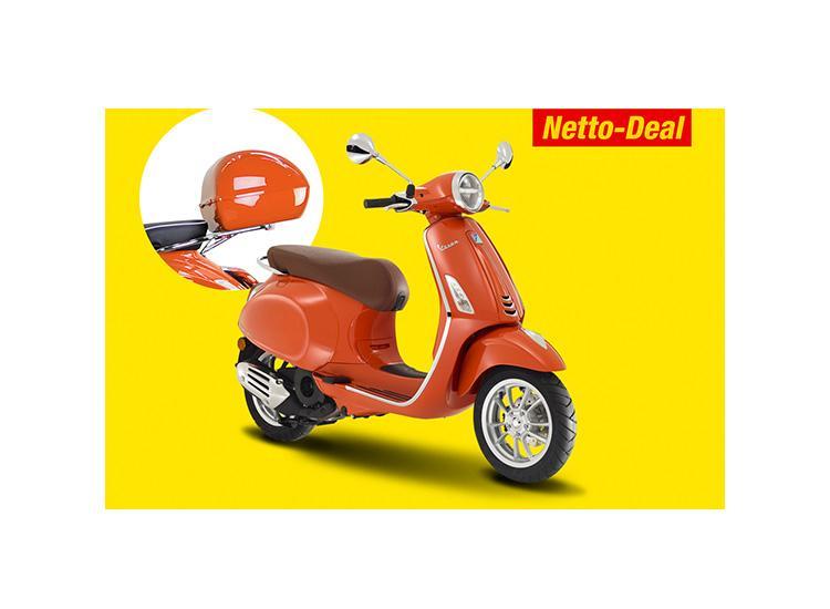 Vespa Primavera 50 leasen ohne Anzahlung & Topcase geschenkt