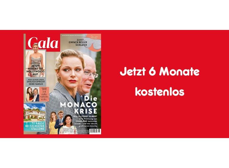 """Gutschein für 6 Monate gratis """"Gala"""" lesen"""