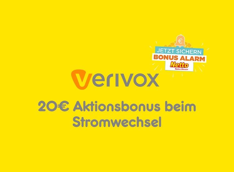 20€ Aktionsbonus beim Stromtarifwechsel