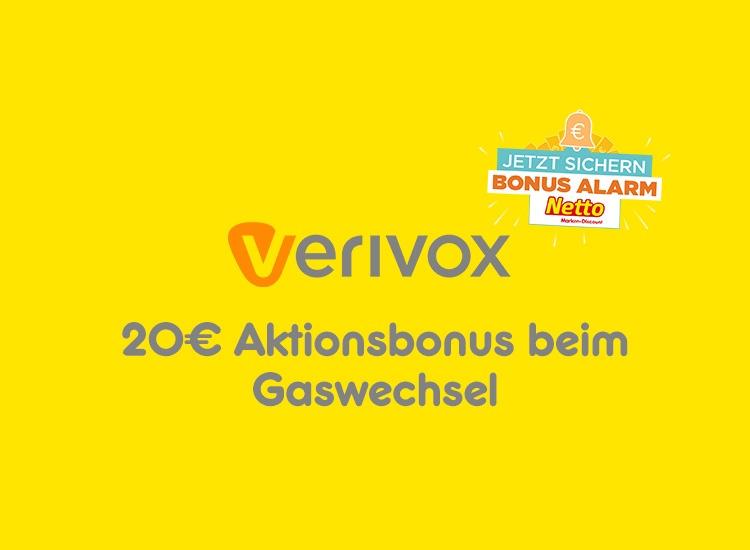 20€ Aktionsbonus beim Gaswechsel