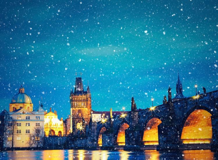 Winterzauber in Prag