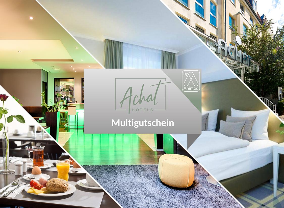 Der ACHAT Hotels Multigutschein -  2 Nächte für 2 Personen im Top-Hotel